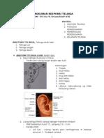 Rangkuman Responsi Telinga