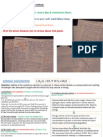 Edexcel A2 Biology Unit 5 Revision Cards [Autosaved]