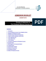 AdmissionBooklet CDAC-PG-DiplomaCourses Aug13 V1