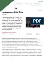20130529 De Groene Amsterdammer – The Man Next To 'Mister Euro'