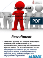 presentation on Recruitment
