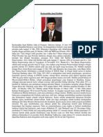 Bacharuddin Jusuf Habibie BIOGRAFI