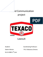 Texaco discrimination Lawsuit