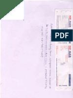 Cash Memo (Sri Latha HP Gas)