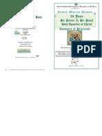 2013 - 29 June - St Peter & St Paul, The Apostles' Feast