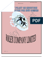 Company Policy on Induction