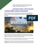 , Wargame Airland Battle pc entrenador turco descargar