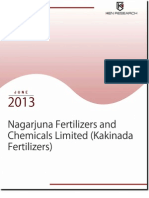 Nagarjuna Fertilizers and Chemicals Limited Expected to Register Revenue Growth of 15.2% in the next 3 years