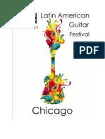 Festival Latinoamericano de Guitarra en Chicago Convocatoria