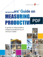 135042423 BCA Builder s Guide on Measuring Productivity 2012