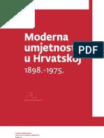 Moderna umjetnost u Hrvatskoj 1898-1975