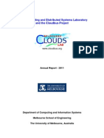 CLOUDS Lab AnnualReport2011