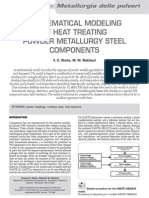 Mathematical Modeling of Heat Reatment