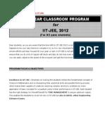 One Year Classroom Program (12th Pass)