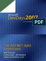 2 ASP DotNET AJAX Extensions