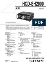 HCD-SH2000 Diagrama Sony
