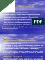 Managementul schimb-+órii - II
