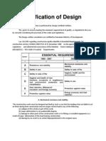 Verification of Design