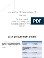 Procurement Process PSP