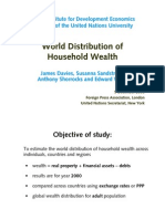 2006 World Household Wealth Distribution