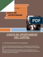 Costo de Oportunidad[1]