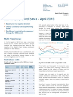 Markit CDS-Bond Basis Report April13
