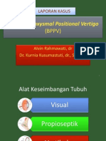 Benign Paroxysmal Positional Vertigo.pptx