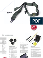 Accuracy International Accessories Brochure