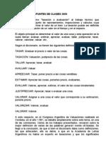 Valuaciones Apuntes de Clases 2009