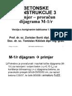 M-Fi Dijagram - Primjer - NOVO
