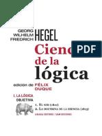 113725060 Ciencia de La Logica Tr Felix Duque G W F Hegel