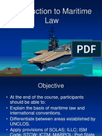 1. Introduction to Maritime Law