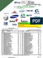 Lista de Precio Micro Max c.a (26 de Abril Del 2013)