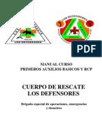 Primeros Auxilios Basicos Defensores