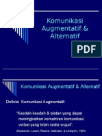 Komunikasi Augmentatif & Alternatif