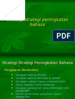 Strategi-Strategi Peningkatan Bahasa