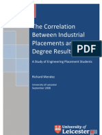 The Correlation Between Industrial Placements and Final Degree Results REVISED PDF