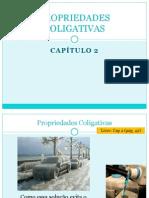 Cap 2 - Propriedades Coligativas