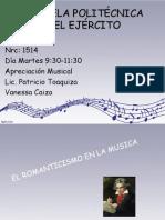 Musica Romanticismo Vanessa Caiza