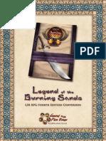 L5R Legends of the Burning Sands Conversion