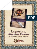 L5R Legends of the Burning Sands Conversion