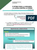segunda fase lucha contra crisis