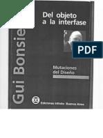 Del Objeto a La Interfase_Bonsiepe
