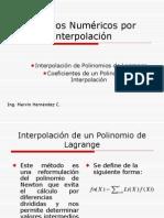 presentación Métodos Numéricos por Interpolación.ppt