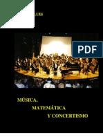 Matematica musica y concertismo