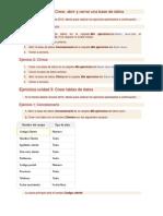 Ejercicios Propuestos Access 2010