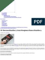 101 Shortcuts BlackBerry Untuk Menghemat Baterai BlackBerry _ Trik dan Tips Blackberry.pdf