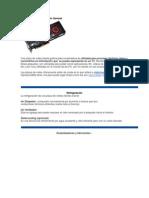 Tarjeta Grafica Descripción General