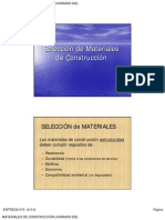 5.Selección de Materiales