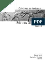 Estudos Olímpicos Texto (Volume 1)